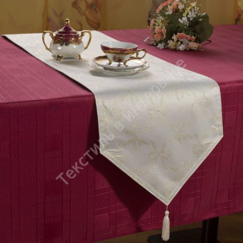 Дорожка из ткани на стол своими руками 25
