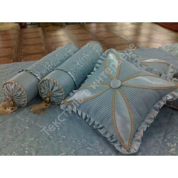 Диванная подушка своими руками фото