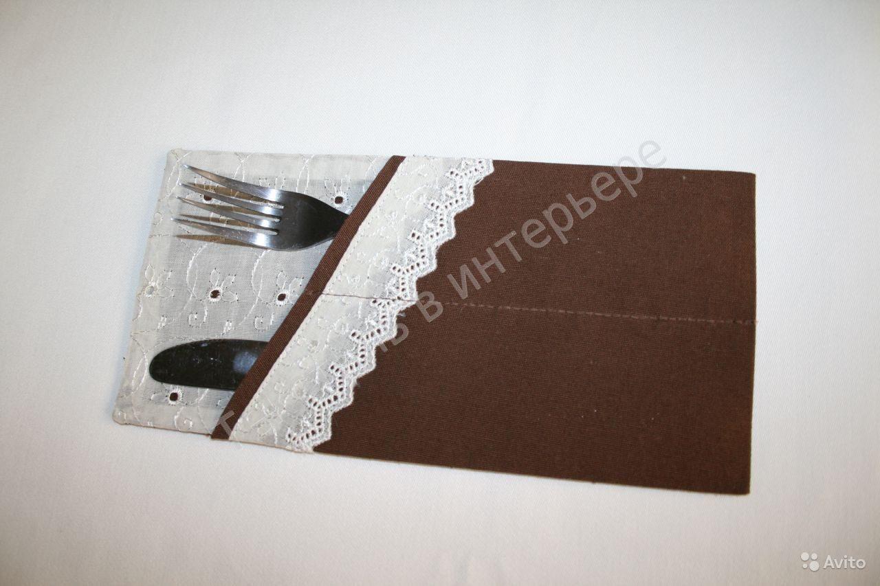 Конверты для столовых приборов своими руками фото