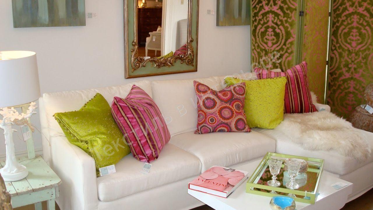 Декор на диване своими руками