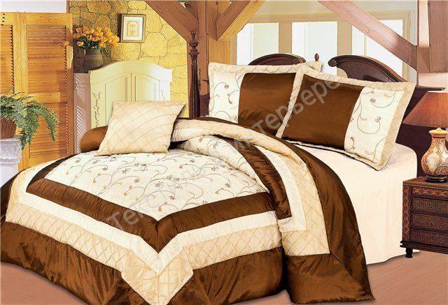 Как простегать покрывало на кровать своими руками