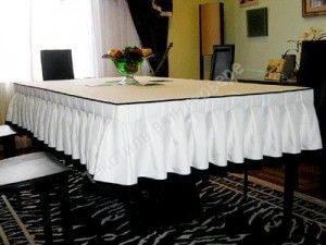 Скатерть своими руками на прямоугольный стол