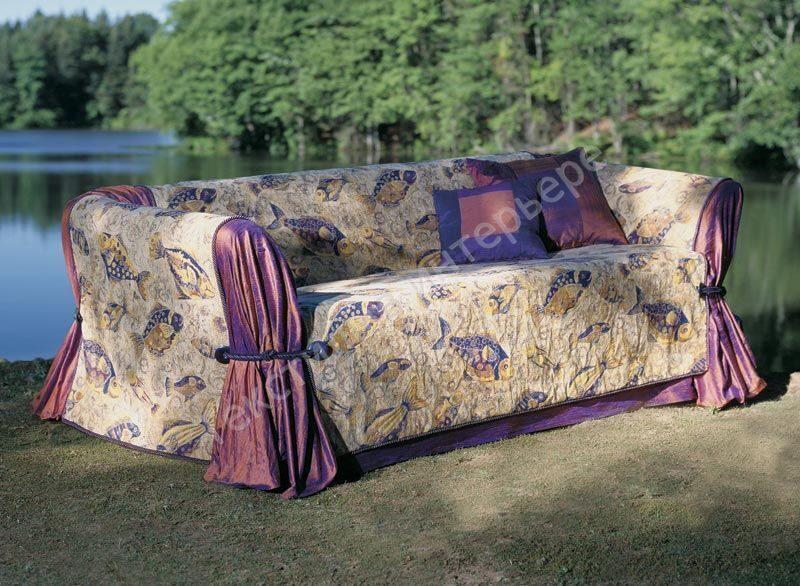 Пледы для дивана сшить