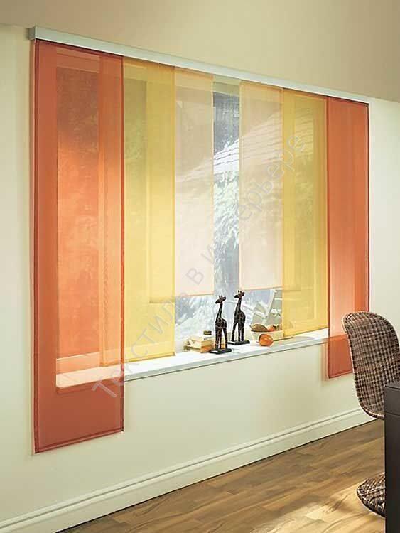 Японские шторы фото в интерьере кухни